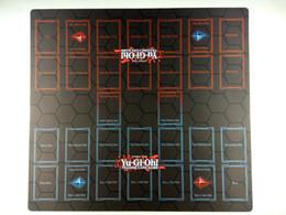 Yu Gi Cards Australia - Yu-Gi-Oh! 2-Player Master Rule 4 Card Link Zones Custom Playmat TCG CCG Duel Mat