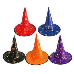 $enCountryForm.capitalKeyWord Australia - 10pcs Halloween Witch Hat Wizard Hat Wicked Witch Accessory Halloween Dress-Up Cosplay Costume Accessory