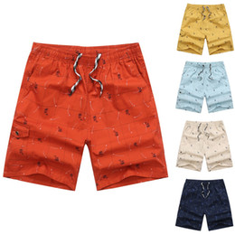 Surf Clothes Wholesale Australia - 2019 Men clothes Spring Summer Print short homme bermuda masculino Trunks Quick Dry Beach Surfing Running Short Pant