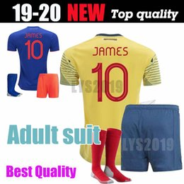 915f5aa0a3c James Colombia Soccer Jersey Australia - Colombia soccer jersey copa  america 2019 colombia football shirt JAMES
