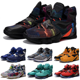 a1e07454bd4b What the Lebron 13 XIII shoes mens kids basketball for sale lebrons  colorful Christmas BHM Blue Easter Halloween Akronite