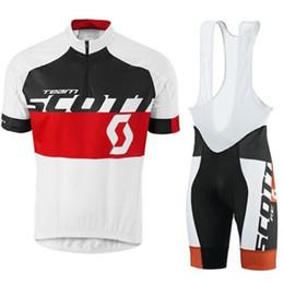 $enCountryForm.capitalKeyWord Australia - Tour de France Pro teamSCOTT cycling jersey Men short sleeve set bicycle cycling clothing Ropa Ciclismo bike Wear bib shorts