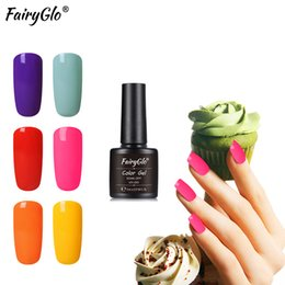 $enCountryForm.capitalKeyWord Australia - Art FairyGlo Suger Nail Gel 8ML Pure Color UV LED Gel Nail Polish Long Last Lucky Lacquer Stamping Panit