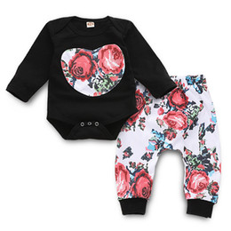EuropEan childrEn s clothing online shopping - Childrens Suits Printed Long Sleeved Clothes Trousers Long Sleeve Children s Two Piece Suit Polyester Fiber