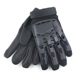 Men Gloves Leather Sheepskin Australia - Black Classic Transformers Full Finger Sheepskin Gloves Outdoor Cycling Motorcycle Racing Mountaineering Hiking Protective Gloves M330Z