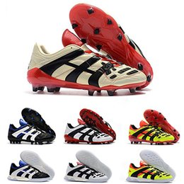 b51277610b8bac Predator Football Boots Mens Dream Back 98 Predator Accelerator Champagne  FG / IC Chaussures de foot Hommes Baskets Chaussures