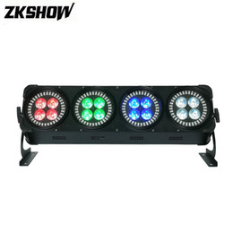 Sound Controller Australia - 16*12W RGBWAUV LED Lumieres DJ Disco Party Lights Equipment SMD Luces DMX Stage Lighting Projector DJ Controller Luces Discoteca