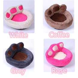 factory beds direct 2019 - Cute footprints fully removable and washable pet nest Teddy Golden Retriever dog mat kennel cat litter pet supplies fact