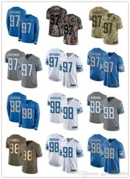 Wholesale best women s jeans for sale - Group buy 2019 custom any number best Rugby jersey Wear Detroit Ricky Jean Damon Harrison Lion men WOMEN YOUTH Rugby Jerseys s xxxxl