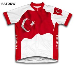 Wholesale clothes turkey resale online - Turkey Cycling Jersey For Men Mountain Bicycle Bike Clothing clothes Sportswear Ropa Ciclismo Tops Breathable Quick dry
