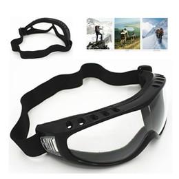 Professional Skiing UV Goggles Winter Snow Anti Dust Glasses Windproof Eyeglasses Sunglasses Outdoor Riding Glasses US