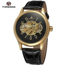 $enCountryForm.capitalKeyWord UK - Forsining Casual Men Automatic Mechanical Watch Golden Skeleton Watches Leather Strap Top Brand Luxury Sports Wristwatches SLZe53