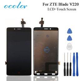 $enCountryForm.capitalKeyWord NZ - ocolor For ZTE Blade V220 LCD Display and Touch Screen Screen Digitizer Assembly+Tools For ZTE Blade V220 Mobile Accessories