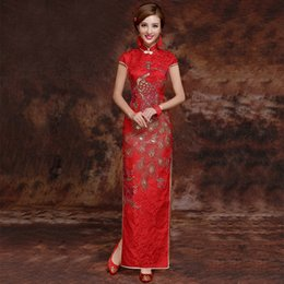 3be90ff03601 Sexy oriental dreSSeS online shopping - 2018 New Party Cheongsam Oriental  Dress Traditional Chinese Style Women
