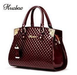 $enCountryForm.capitalKeyWord Australia - Women Genuine Patent Leather Handbags Luxury Shoulder Crossbody Bag Handbag Designer Purse Satchel Messenger Bag Ladies Tote Bag