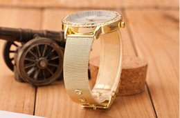 $enCountryForm.capitalKeyWord Australia - Wristwatches Fashion Alloy Mesh Belt Lady Quartz Watch Luxury Diamond Set Foreign Trade Hot Style Watch Women 2019 New
