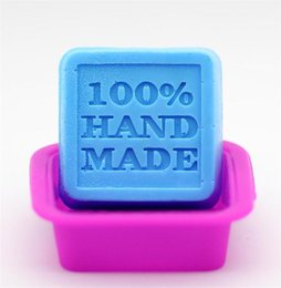 Make Gadgets Australia - Wholesale Square 100% Handmade Silicone Mold Soap Muffin Cake Baking DIY Soap Molds Soap Making Gadgets Kitchen Accessories Home Decor