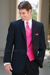 $enCountryForm.capitalKeyWord NZ - classic men's suit Mens Suit One Button Wedding Suits Groom Tuxedos Groomsmen Best Men Terno Slim Costume Homme 2PCS