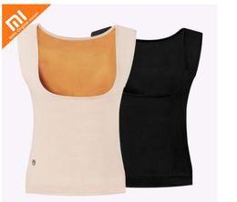 Original xiaomi mijia PMA graphene heating warm back treasure body slimming plus velvet ladies warm clothes far infrared heating Fair Size on Sale