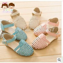 sandals for flower girls Australia - Wholesale-Kids Shoes For Girl Special Offer Flowers Sandalia 2015 Spring&summer Stylish Sandals Hot Girls Princess Hollow Brand Shoes