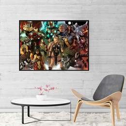 Figure Films Australia - Marvel Film Wallpaper Art Canvas Poster Painting Wall Picture Print For Home For Living Bedroom Decoration