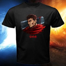 Men S Tees Australia - New Berserk Guts Gattsu Griffith Anime Manga Black White Men T-Shirt Tee S - 5XL