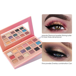 $enCountryForm.capitalKeyWord Canada - 18-color Flash Matte Eye Shadow Palette Fine Powder Feels Soft And Lasts Without Makeup Eye Cosmetics Beauty Tools
