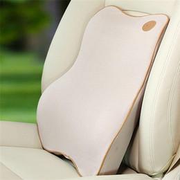 $enCountryForm.capitalKeyWord NZ - High Quality Space Memory Foam Car Waist Cushion Summer Car Lumbar Spine Cushion Waist Seat Back Automotive Safety Products