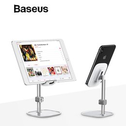 Adjustable Metal Stand For Tablet Australia - Metal Phone Stand Holder Adjustable Desk Mobile Phone Holder Stand for Xiaomi Tablet iPad Air iPhone XS 7 6 6S 5