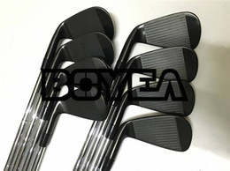 Iron club heads online shopping - BOYEA Golf Clubs Black A3 Iron Set A3 Golf Forged Irons Golf Clubs Pw Steel Shaft With Head Cover