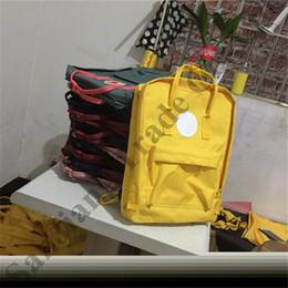 $enCountryForm.capitalKeyWord Australia - 2019 sweden Brand Fox Backpacks Fashion shoulder bag boy girls Waterproof Canvas school bag Rucksack Big size Travel sports totes C82007