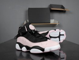 $enCountryForm.capitalKeyWord Canada - 2018 High Quality 6 Rings Valentine Cherry blossoms Pink Black women Basketball Shoes 6s Womens Designer Sneakers with box