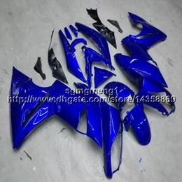 Kawasaki Er Fairing Australia - 23colors+Gifts blue motorcycle cowl for Kawasaki ER6F 09 10 11 ER 6F 2009 2010 2011 motor cover ABS Plastic Fairing