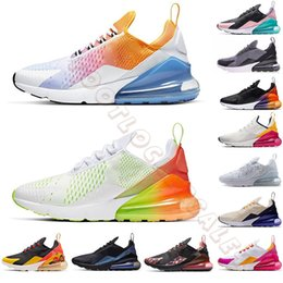 Men size 47 running shoes online shopping - Eur Cushion Running Shoes For Men Women Rainbow White Triple Black Be True Gradient Trainers Big Size Designer Sneakers