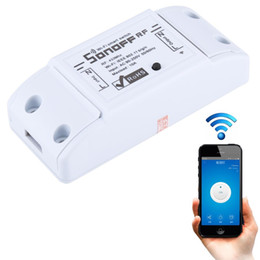 Sonoff 433MHz DIY WiFi Smart Wireless Remote Control Timer Module Power Switch for Smart Home, Support iOS and Android on Sale