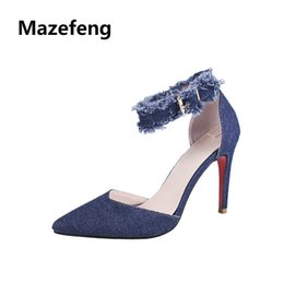 a18f4e181be Ladies Shoes Styles UK - Mazefeng 2019 Fashion Summer Women High-heeled  Women Casual Pumps