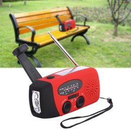 Multi Function Radio Australia - Multi-function AM FM Solar Radio Hand Crank Emergency Phone Charger Bank A