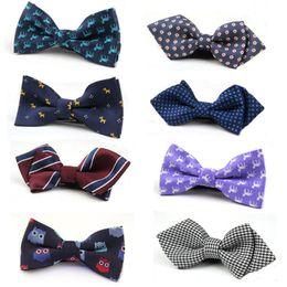 8c4706025241 Child CheCk bow ties online shopping - 66 Colors British style Baby stripe  lattice Tie Children