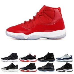 Prom flats shoes online shopping - 11 Gym Red Platinum Tint Basketball Shoes Prom Night Concord Space Jam Jams Legend Gamma Blue s Cool Grey Bred Men Cap and Gown Sneakers