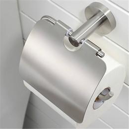 $enCountryForm.capitalKeyWord Australia - Bathroom accessories 304 stainless steel toilet pa per holder original brushe d paper roll rack hanger