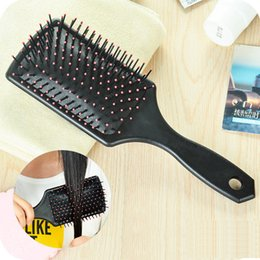 $enCountryForm.capitalKeyWord Australia - Air bag comb hair massage air bag wide tooth flat plastic curly straight hair long large board