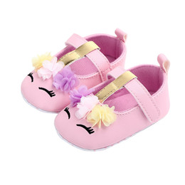 $enCountryForm.capitalKeyWord Australia - Toddler Baby Girls Shoes Infant First Walkers for Newborn Autumn Soft Sole Non-Slip Sequins PU Shoes Sneakers