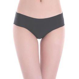 $enCountryForm.capitalKeyWord NZ - 2016 Women Invisible Seamless Soft Thong Lingerie Briefs Hipster Underwear Panties Hot Sale