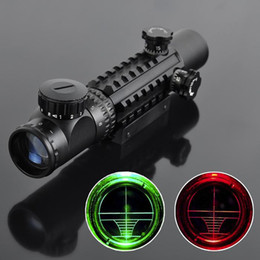$enCountryForm.capitalKeyWord Australia - Laser Sight 4-16x50 Red Green Illuminated Reticle Riflescope Airsoft Scope with 20MM Rail Mounts for Hunting