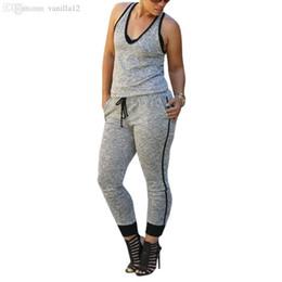 $enCountryForm.capitalKeyWord Australia - Wholesale-Top Selling For Women Bandage Bodycon Jumpsuit Sexy Long Playsuit Rompers Sport Pants Clubwear