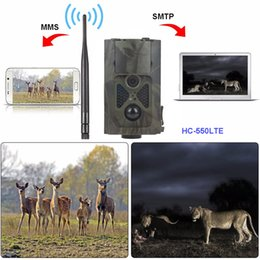 hunt cameras gsm NZ - 4G Night Vision Hunting Camera Waterproof Wildlife Camera GPS FTP 16MP Email MMS GSM Photo traps