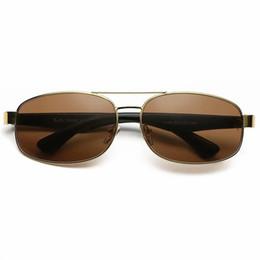 $enCountryForm.capitalKeyWord Australia - 2018 Top quality Men's Sunglasses Unisex Style Metal UV400 Gold Green Glass Lens vintage Square Oculos De Sol Masculino 3445 With Box,Case