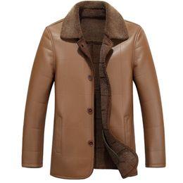 $enCountryForm.capitalKeyWord NZ - 2018 men's Winter Faux Fur Coat elegant black and white striped rabbit warm fur coat mens jacket