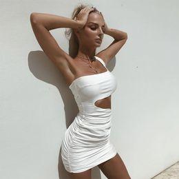 00b040c0a5 Women s Dresses New Summer Hot Single - Shouldered Designer Dress Sexy  Fashion Nightclub Temperament Tight Wrap Buttock Dress