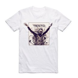 a19deccb Dj Tiesto Men Women Fashion T-shirts Men Casual Streetwear Clothes Summer  Cool O Neck Short Sleeve White T Shirt Size Xxxl
